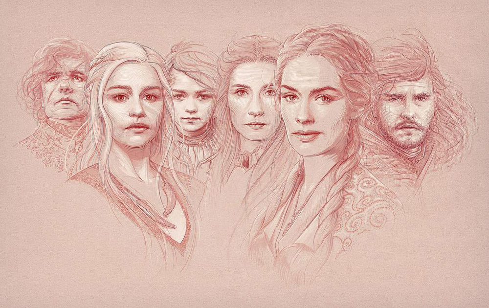 Game of Thrones ilustration